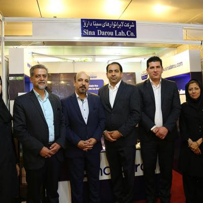 The presence of the Sinadarou Laboratories at the 24th Farabi Annual Seminar on 2-4 March 2018 Tehran-Iran